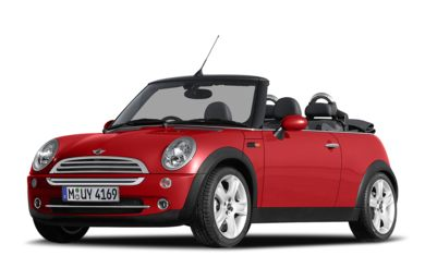 3/4 Front Glamour 2008 MINI Convertible