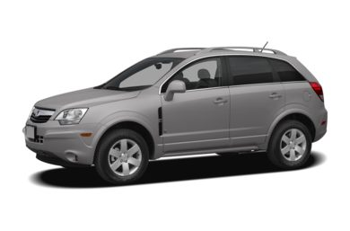 3 4 Front Glamour 2008 Saturn Vue