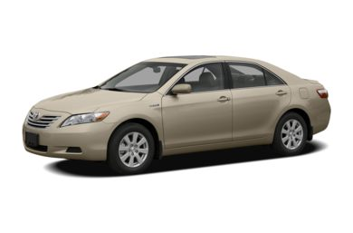 3 4 Front Glamour 2008 Toyota Camry Hybrid