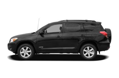 90 Degree Profile 2008 Toyota RAV4