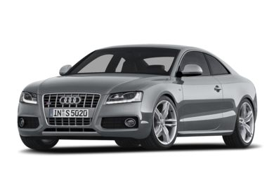3/4 Front Glamour 2009 Audi S5