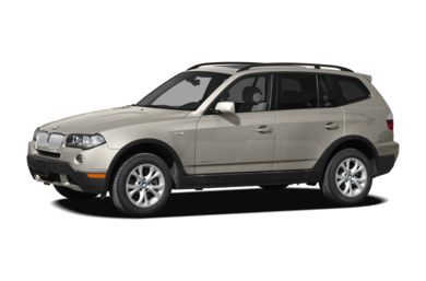 3/4 Front Glamour 2009 BMW X3