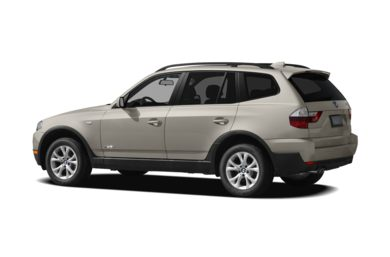 Surround 3/4 Rear - Drivers Side  2009 BMW X3