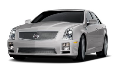 3/4 Front Glamour 2009 Cadillac STS-V