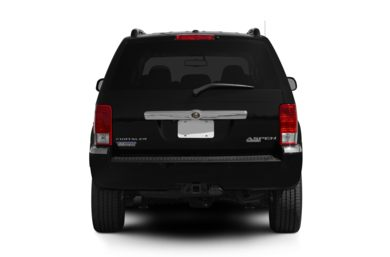 Rear Profile  2009 Chrysler Aspen Hybrid