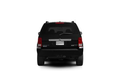 Surround Rear Profile 2009 Chrysler Aspen Hybrid