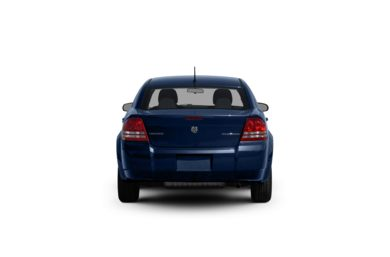 Surround Rear Profile 2009 Dodge Avenger