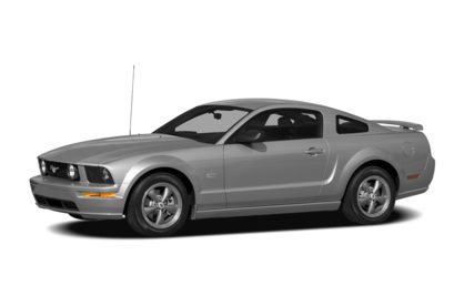 3/4 Front Glamour 2009 Ford Mustang