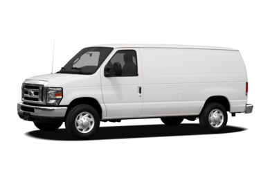 3/4 Front Glamour 2009 Ford E-350 Super Duty