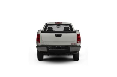 Surround Rear Profile 2009 GMC Sierra 1500