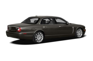 3/4 Rear Glamour  2009 Jaguar XJ
