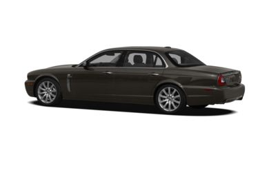 Surround 3/4 Rear - Drivers Side  2009 Jaguar XJ