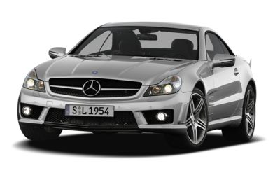 3/4 Front Glamour 2009 Mercedes-Benz SL63 AMG