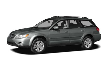 3/4 Front Glamour 2009 Subaru Outback