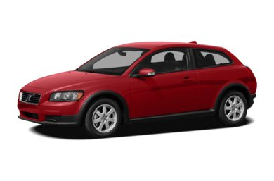 3/4 Front Glamour 2009 Volvo C30