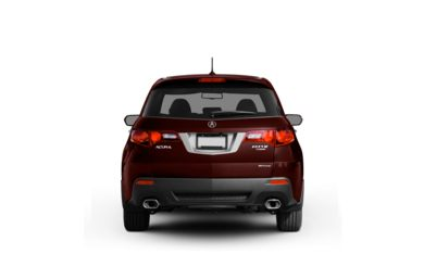 Surround Rear Profile 2010 Acura RDX