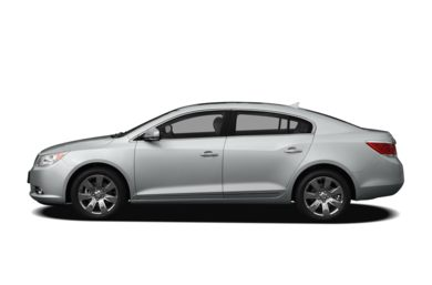 90 Degree Profile 2010 Buick LaCrosse