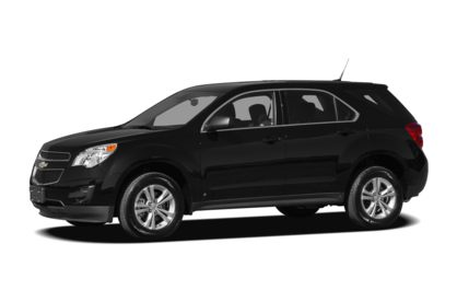 3/4 Front Glamour 2010 Chevrolet Equinox