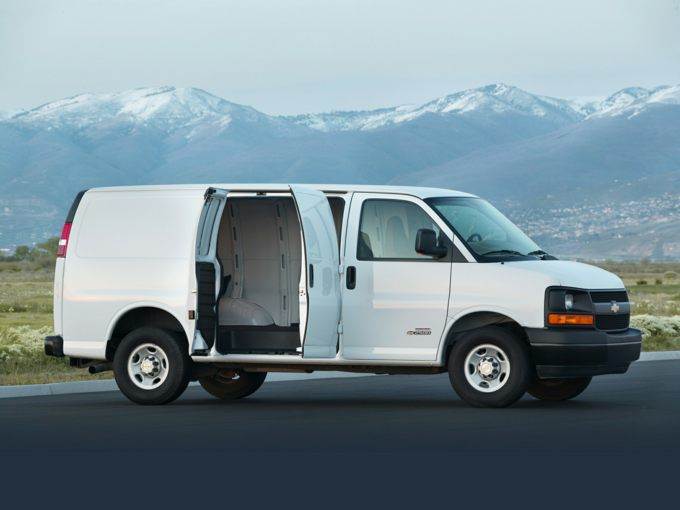Chevrolet Express 2500 Side
