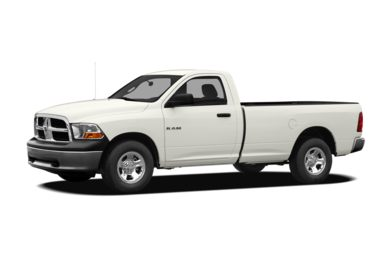 3/4 Front Glamour 2010 Dodge Ram 1500