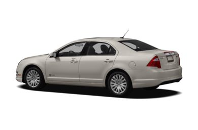 Surround 3 4 Rear Drivers Side 2010 Ford Fusion Hybrid
