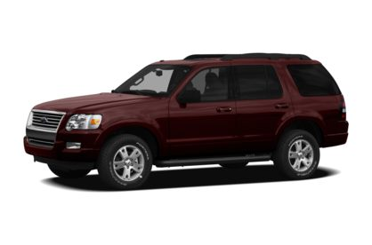 3/4 Front Glamour 2010 Ford Explorer