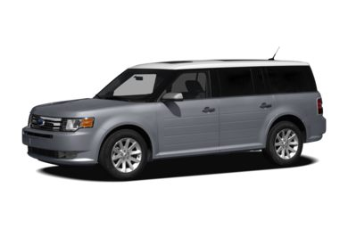 3/4 Front Glamour 2010 Ford Flex