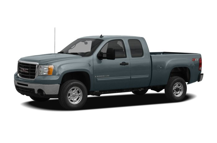 2010 Gmc Sierra 2500hd Work Truck 4x2 Regular Cab 8 Ft Box 133 In