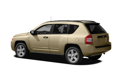 Surround 3/4 Rear - Drivers Side  2010 Jeep Compass