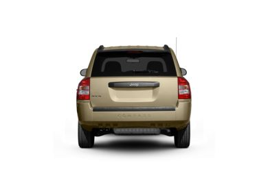 Surround Rear Profile 2010 Jeep Compass