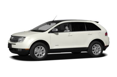 3/4 Front Glamour 2010 Lincoln MKX