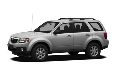 3/4 Front Glamour 2010 Mazda Tribute