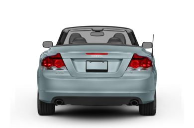 Rear Profile  2010 Volvo C70