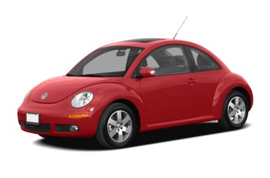 3/4 Front Glamour 2010 Volkswagen New Beetle