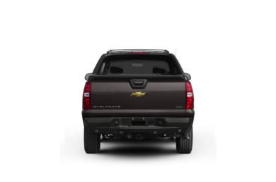 Surround Rear Profile 2011 Chevrolet Avalanche