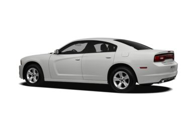Surround 3/4 Rear - Drivers Side  2011 Dodge Charger