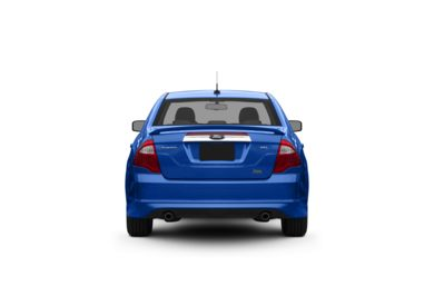 Surround Rear Profile 2011 Ford Fusion
