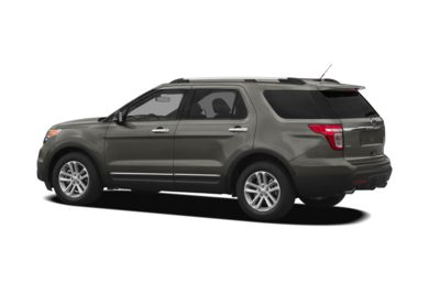 Surround 3/4 Rear - Drivers Side  2011 Ford Explorer