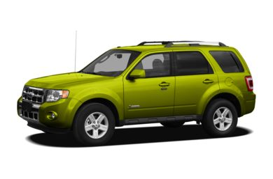 3/4 Front Glamour 2011 Ford Escape Hybrid
