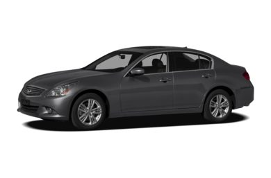 3/4 Front Glamour 2011 INFINITI G25