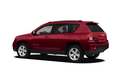 Surround 3/4 Rear - Drivers Side  2011 Jeep Compass