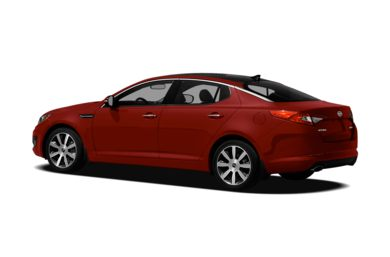 Surround 3/4 Rear - Drivers Side  2011 Kia Optima