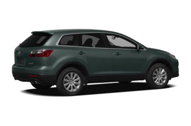 3/4 Rear Glamour  2011 Mazda CX-9