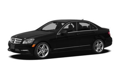 3/4 Front Glamour 2011 Mercedes-Benz C350