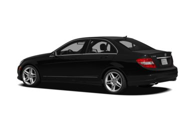 Surround 3/4 Rear - Drivers Side  2011 Mercedes-Benz C350