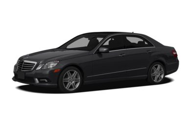 3/4 Front Glamour 2011 Mercedes-Benz E550