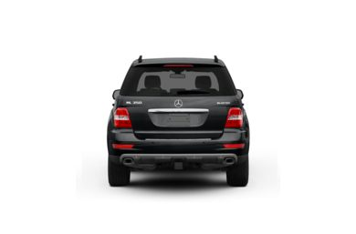 Surround Rear Profile 2011 Mercedes-Benz ML350 BlueTEC