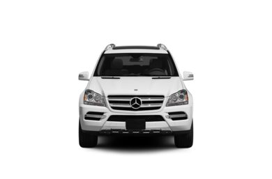 Surround Front Profile  2011 Mercedes-Benz GL350 BlueTEC