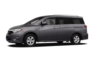 3/4 Front Glamour 2011 Nissan Quest