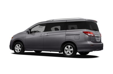 Surround 3/4 Rear - Drivers Side  2011 Nissan Quest
